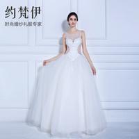 Winter wedding dress Formal dress 2014 double-shoulder Fashion puff skirt Winter wedding dress bride vestido de noiva