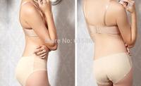 Women Sexy Briefs Hip Seamless Briefs Fake Ass Nice Bottom Breathable Underwear Push Up Hip Pants