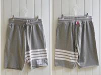 THOM BROW fashion Korean Mens designer clothes Simple College Wind Men splicing striped  striped shorts