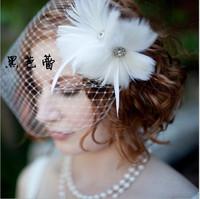 Bridal hats wedding accessory