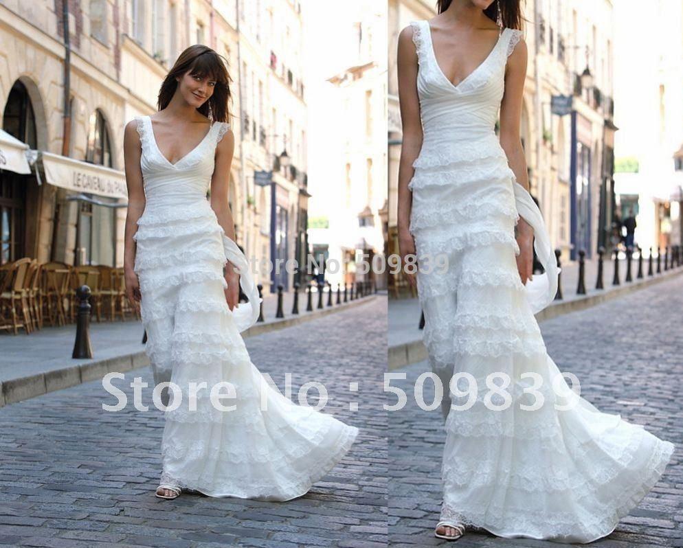 Vestido de novia de punto — Cuadros