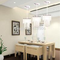 New Best-selling LED crystal droplight sitting room of balcony crystal droplight creative  K9 crystal lamp Christmas Lights 12cm