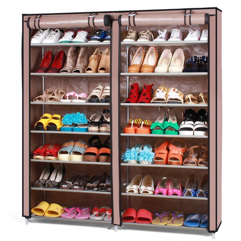 Armoire chaussures en m tal promotion achetez des - Meuble chaussures grande capacite ...