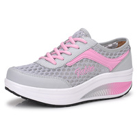 2014 Women's Swing Breathable Cutout Wedges Platform Casual Sports Running shoes, Free Shipping