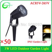 3w waterproof outdoor led garden light ,led light garden spot lights with spike