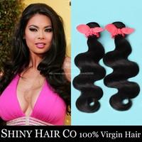 5 Bundles Brazilian Virgin Hair Body Wave Natural Black 6A Unprocessed Human Hair Weave Brazilian Hair Weave Bundles Elfin Hair