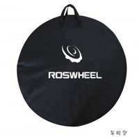 "ROSWHEEL New 73cm 700C Road & 26"" MTB Bicyle Bike Cycling Wheel Bag Pack Black Free Shippng"