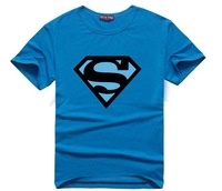 The Big Bang Sheldon Superman T Shirt couple t shirt men's casual O-neck short sleeve t-shirts  Plus size S-XXL Cotton tees T46
