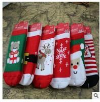 2014 autumn / winter Christmas socks Frozen cotton Boys / Girls cotton socks for children