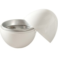 Free Shipping New White Microwave 4 Egg Cooker Steamer Kitchen Cooking Boiler Utensil Kitchen [GM61]