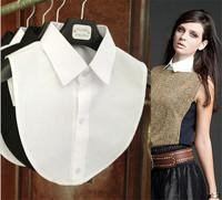 Hot Sale ! Clothes Accessories false collar white & black blouse detachable collars