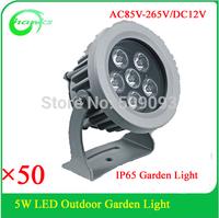 Hot Sale !DC12V/AC85-265V  IP65  5W outdoor landscaping light led garden light 5W