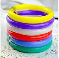 Gossip fashion stationery bracelet pen ballpoint pen carry fashion transparent at random bending pen