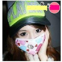 2014 Fashion Korean cartoon masks variety cartoons-sterile mask double canvas dust thermal mask
