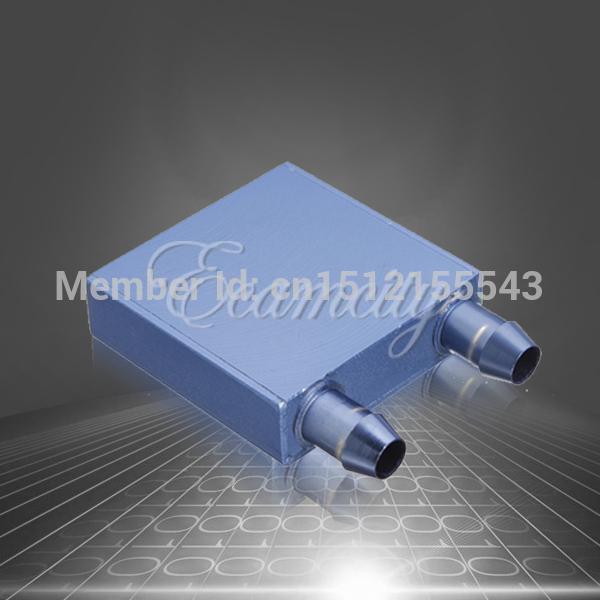 1 pcs vácuo de brasagem de alumínio água de resfriamento do dissipador de calor do bloco Waterblock líquido refrigerador para CPU GPU novo atacado(China (Mainland))