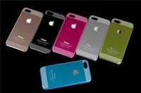 Luxury Metal Aluminum Matte Snap On Hard Case Cover Protector For Apple iPhone 5 5S Free Shipping