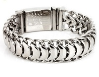 Exquisite mens hands decorated domineering coarse Bracelet titanium man personality jadoku Bracelet new listing