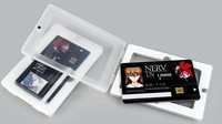 Transparent PP Cover Case With Magnetic Closure for Name Card / U Disk