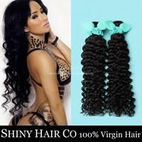3 Bundles Peruvian Virgin Hair Deep Wave Natural Black 6A Unprocessed Human Hair Weave Grace Hair Products Ali Moda Hair Wowigs
