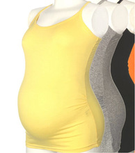 Maternity Women Vest Cotton Clothes For Pregnant Women Solid Color (China (Mainland))