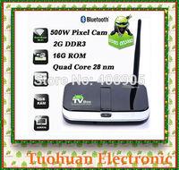 CS918S TV BOX 5.0MP Camera Microphone Allwinner A31S Quad Core 2G/16G XBMC Bluetooth 4.0  Android 4.2.2 4K  HDMI Media Player