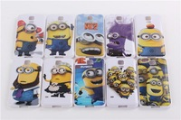 For Samsung Galaxy S5 SV I9600 Case Fashional Cute Cartoon Model Despicable Me Yellow Minion Cover Cases+Free Screen Protector