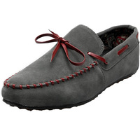 Spring 2014 wholesale shoes peas loafer suede leather casual shoes Korean British flat hot single