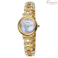 Top Sale High Quality KIMIO Watch Women's Luxury Pearl Korea Rhinestone Bracelet Watches