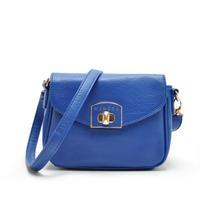 AC516 modern fashion WOMEN LADY GIRL sling bag crossbody bag flap blue red