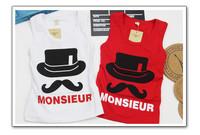 baby boys kids cotton summer cool hat tanks camisoles 1pcs KT333R