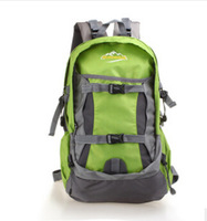 2014 New 35L outdoor spikeing mountaineering bag sports camping backpack hiking travel rucksack free shipping
