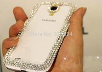 Free shipping for Samsung galaxy S5 Note 2 Note 3 S4 S3  i9600 i9500 i9300 bling diamond 3D rhinestone luxury fashion Case