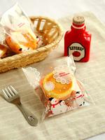 New product 100pcs/lot packaging bags Christmas snowman self adhesive plastic bag food bag party bag 10x11cm