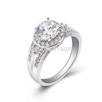 Fashion women rings rhinestone jewelry accessories charm bands wedding jewellery wholesale