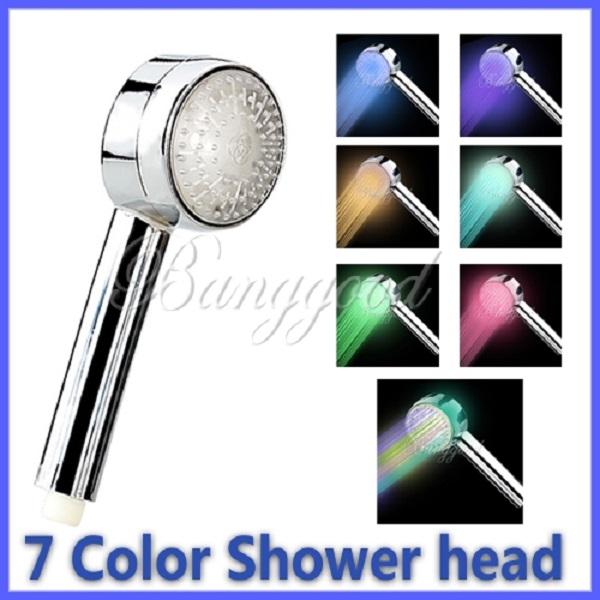 Mode lont 7 kleuren automatische romantische 8 led licht verandering