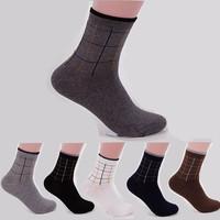 1 lot=6 pairs=12 pieces  2014 Winter and autumn Socks Men Warm Soft Classic Business Men's Sock Brand Mens Socks For Men