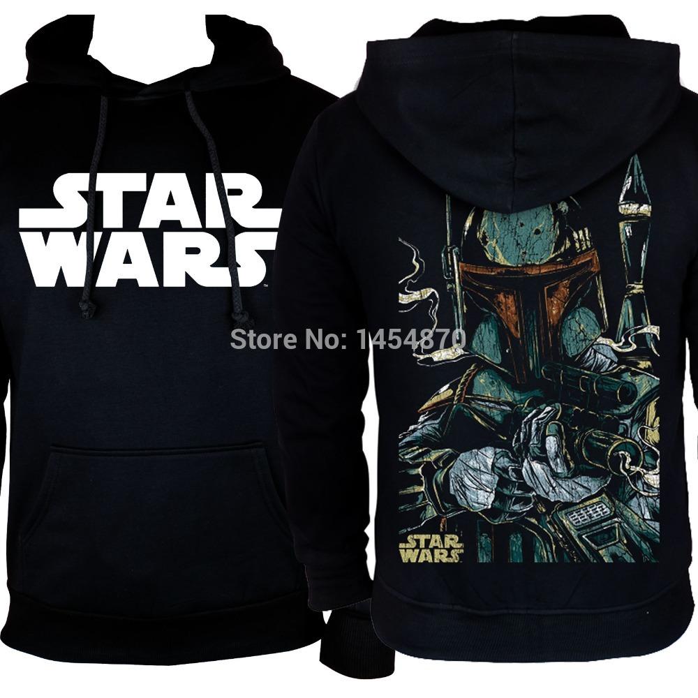 Men's Clothing Shop For Cheap Fashion Super Cool Film Star Wars Darth Vader Hoodies Winter Jacket Hardrock Death Punk Black Metal Sweatshirt Fleece