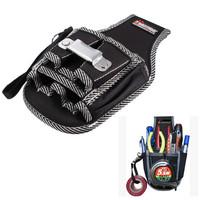Electricians Waist Tool Belt Pouch Bag Screwdriver Carry Case Holder