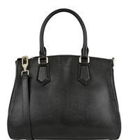AC481 Modern Fashion Elegant solid Faux Leather  Briefcase crossbody bag handbag