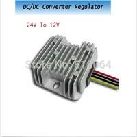 Waterproof DC/DC Converter Regulator 24V (12-40V) Step down to 12V 72W 6A