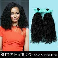 4pcs/lot Grade 6A Peruvian Virgin Hair Afro Kinky Curly Hair Weave Unprocessed Peruvian Kinky Curly Virgin Hair Extension