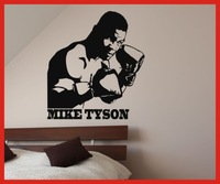 T677 Free Shipping thiessen wall stickers wall stickers sports wall stickers boxing