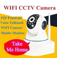 720P WIFI wide angle CCTV Camera 3.6mm lens Network high-definition cameras
