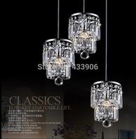 New Best-selling LED crystal droplight sitting room of balcony crystal droplight creative  K9 crystal lamp Christmas Lights 15cm