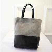 Europe style Big capacity fashion women totebag shopping handbags 2 colors students bags-8