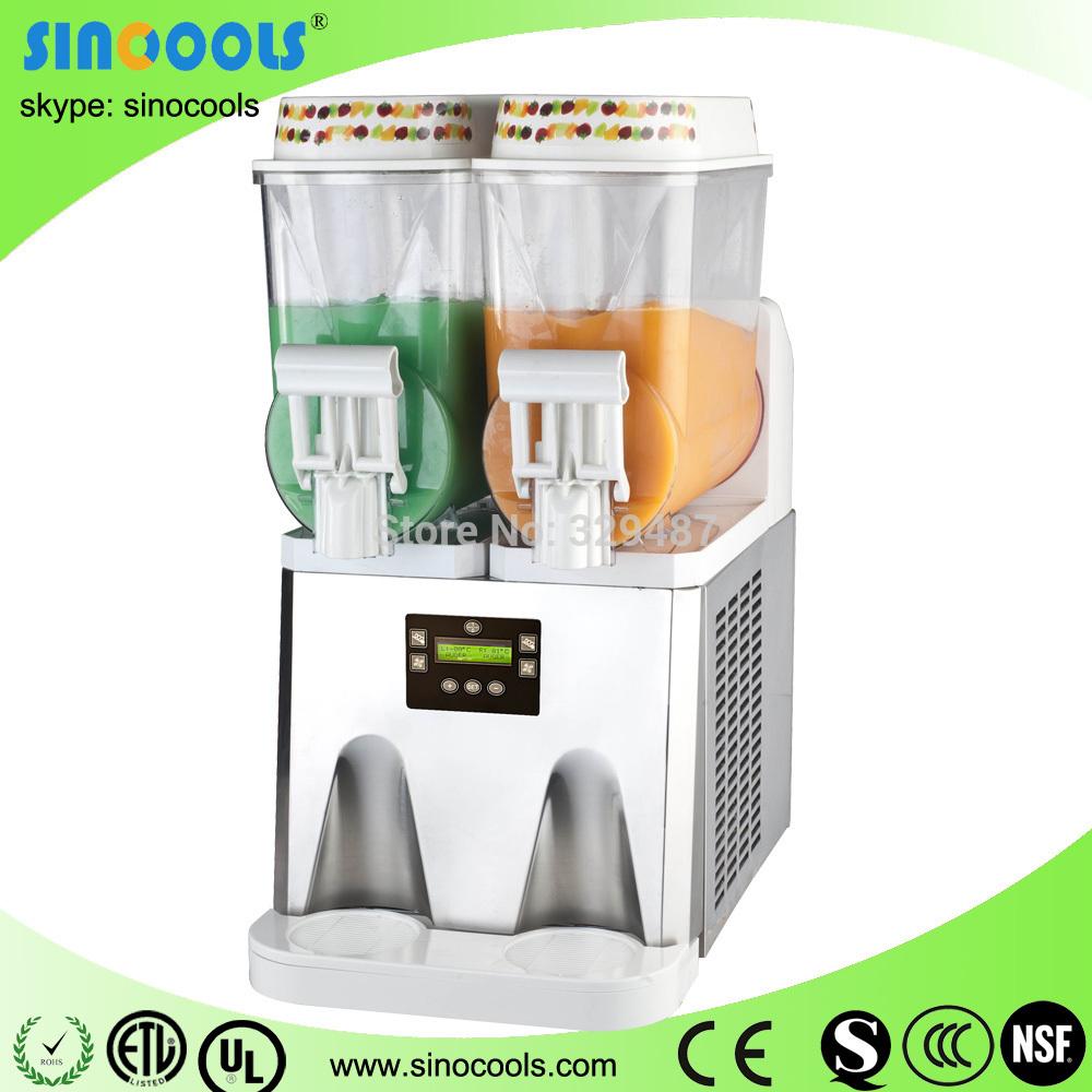SLUSH DISPENSER One barrel model XRJ-12L*2 one tank/bowl beverage dispenser commercial ice machine frozen slush machine(China (Mainland))