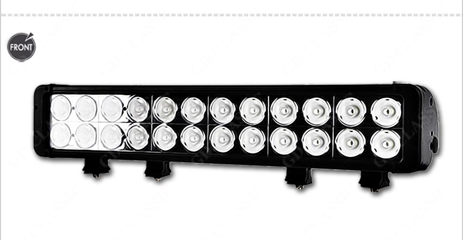 10W led offroad bar, Dual row led driving light offroad bar 240W led light bar(China (Mainland))