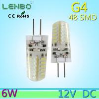 10pcs/lot High Power SMD3014 6W 12V g4 led Lamp R360 Beam Angle LED Bulb lamp warranty Free Shipping