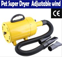 Professional 2800 W Stepless ajuste Super pet secador de cabelo soprador cão produtos pet gato sopro ferramenta grooming grátis frete(China (Mainland))