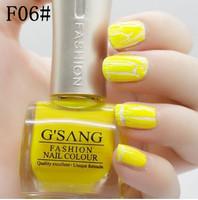 china gsang nail art crackle shatter glaze sweet color china beauty brand nail lacquer christmas gift crack nail polish bulk